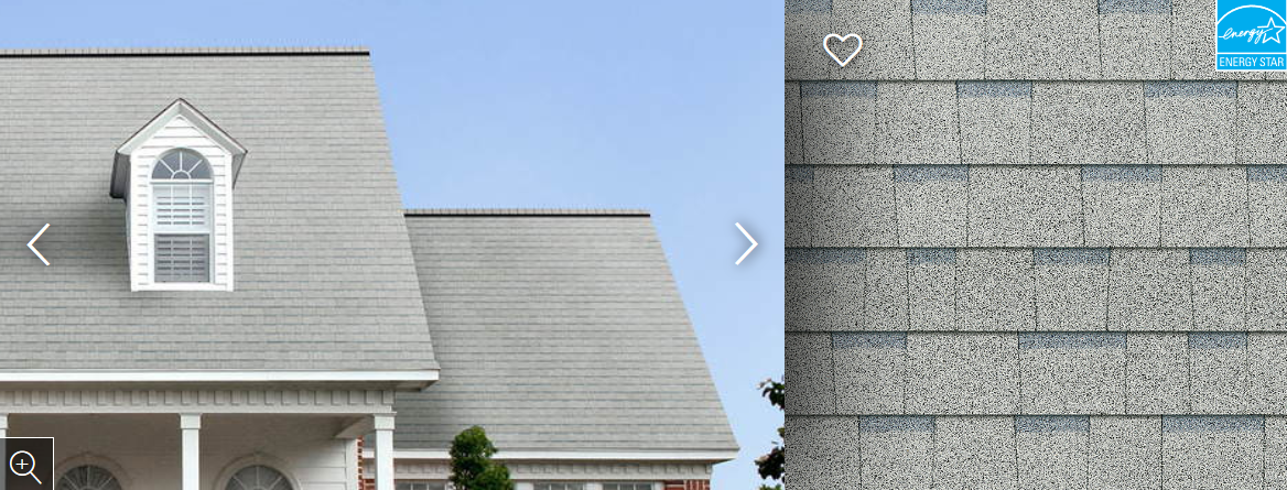Duration® Shingles Shasta White
